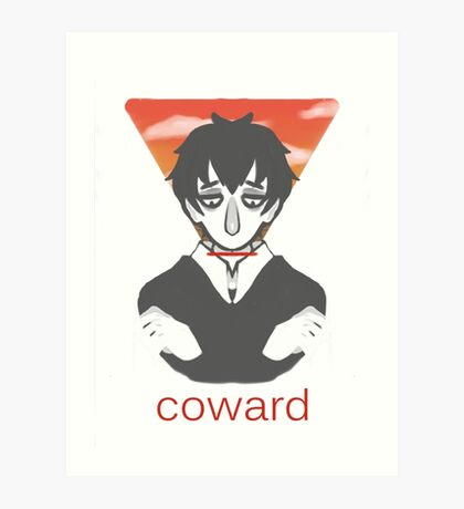 Coward Art Print