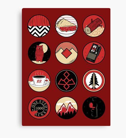 Iconic: Twin Peaks Canvas Print