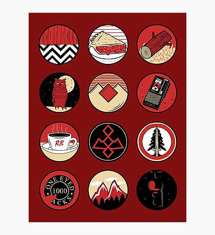 Iconic: Twin Peaks Photographic Print