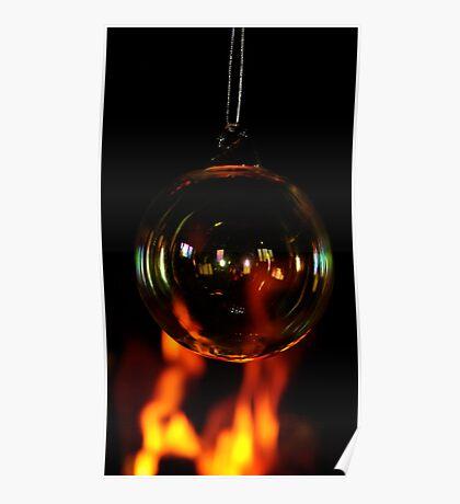 Fireside Bauble. Poster
