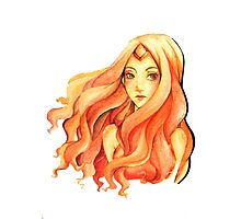 Flame Princess Photographic Print