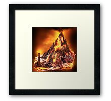 Lord of the Rings - Mount Doom Framed Print