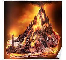 Lord of the Rings - Mount Doom Poster