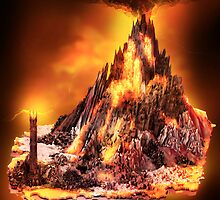 Lord of the Rings - Mount Doom by Neil Stratford