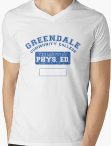 Greendale Theoretical Phys. Ed.  Mens V-Neck T-Shirt