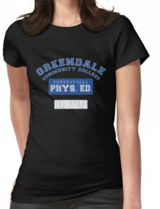 Greendale Theoretical Phys. Ed.  Womens Fitted T-Shirt