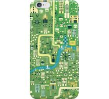 cartoon map of London iPhone 3,4- iPod case iPhone Case/Skin
