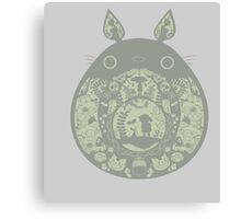Inside Totoro Canvas Print