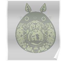 Inside Totoro Poster