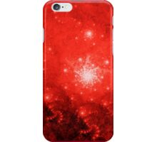 Red Fractal iPhone Case/Skin