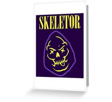 Skeletor Band Greeting Card