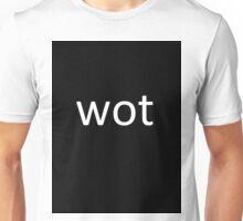 Wot t shirt Unisex T-Shirt