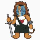 Brave Of Heart Lion by DevilChimp