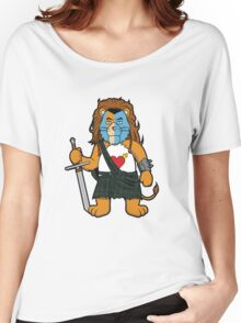 Brave Of Heart Lion Women's Relaxed Fit T-Shirt