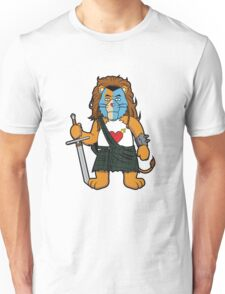 Brave Of Heart Lion Unisex T-Shirt
