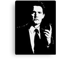 Agent Cooper Canvas Print