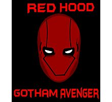 Red Hood Photographic Print