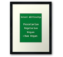 Select your difficulty Framed Print