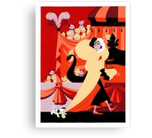The Hundred and One Dalmatians Canvas Print