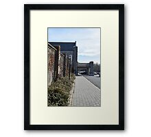 Mossy Station Wall Framed Print