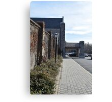 Mossy Station Wall Canvas Print
