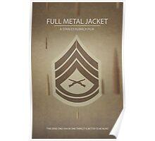 Full Metal Jacket - Minimal Poster Print Poster