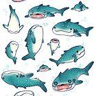 whale sharks! by dakshinadeer