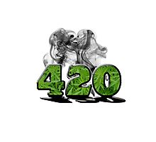 420 HAZE Photographic Print