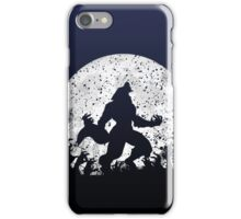Werewolf vs Zombies iPhone Case/Skin