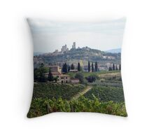 On The Way To Somewhere Magical Throw Pillow