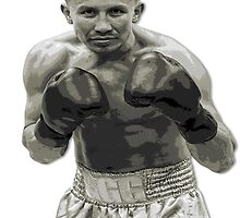 GGG Gennady Golovkin Black and white Boxing by RighteousOnix