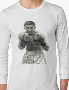 GGG Gennady Golovkin Black and white Boxing Long Sleeve T-Shirt