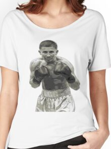 GGG Gennady Golovkin Black and white Boxing Women's Relaxed Fit T-Shirt