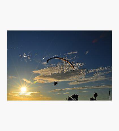 Power Paragliding   Photographic Print
