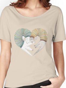 Ferret sleep Women's Relaxed Fit T-Shirt