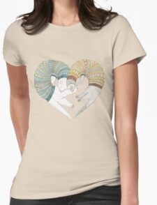 Ferret sleep Womens Fitted T-Shirt