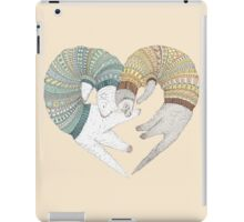 Ferret sleep iPad Case/Skin
