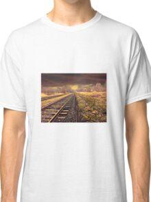 Railway track Classic T-Shirt