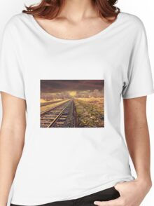 Railway track Women's Relaxed Fit T-Shirt