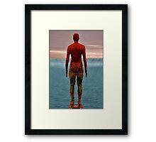 antony gormley men Framed Print
