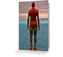 antony gormley men Greeting Card