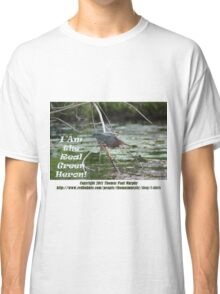 I Am the Real Green Heron! Classic T-Shirt