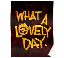What a Lovely Day. Poster