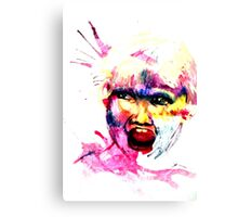 Screaming Kid Canvas Print
