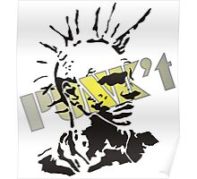 Punk't stamped Poster