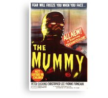 The Mummy Alt (Red) Canvas Print