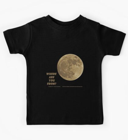 Where are you from? Kids Clothes