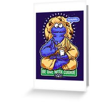 One With Cookie Greeting Card