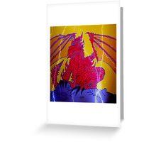 The Electric Dragon Greeting Card