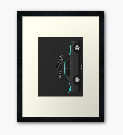 Vulcar Warrener (GTA JDM Series) Framed Print